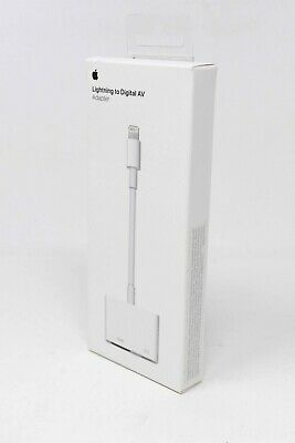 Apple Lightning to Digital AV HDMI Adapter for iPhone iPad - MD826AM/A - NEW !!!