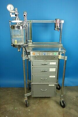 Foregger Foretrend Veterinary Anesthesia Cart Last Certified 2016