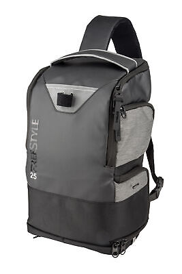 Spro Freestyle Backpack 25 Rucksack Back Pack Grey Angelrucksack mit 4 Boxen NEW