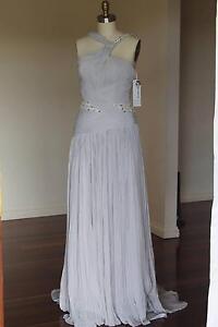 brand new Fiorenza formal dress was $2900 size 12 purple/silver Auchenflower Brisbane North West Preview