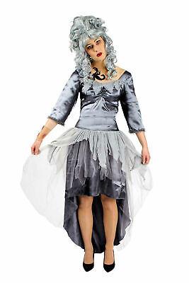 Damen Kostüm Zombie Braut Horrorkostüm Geisterbraut Gr.36-46 Fasching Halloween
