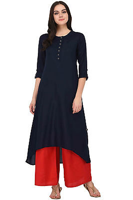 New Style Clothes For Girls (New Indian Fashion Kurti Style Ethnic Casual Dress Good Quality For)