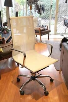 Mesh Executive Office Chair - Eames Reproduction - White Newport Hobsons Bay Area Preview