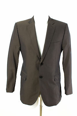 COSTUME NATIONAL HOMME Sakko Gr. 48 / S 100% Baumwolle Slim Fit Business Jacket