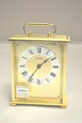 Seiko 7 Desk and Table Carriage Clock