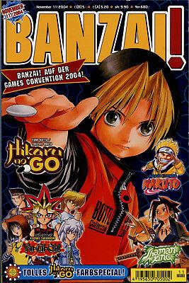 Carlsen Comics - BANZAI! Nr. 11/2004 - November 2004 (Heft 37 von 50)
