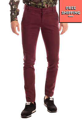 ENTRE AMIS Gabardine Chino Trousers Size 31 Stretch Garment Dye Zip Fly