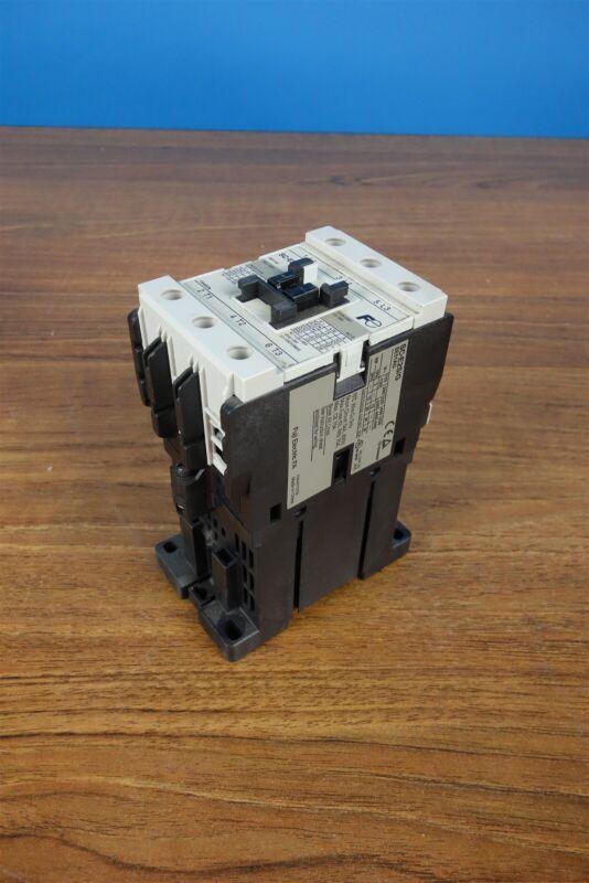 FUJI ELECTRIC CONTACTOR SC-E2S/G 24V COIL SE51AG 65A A AMP 600Vac