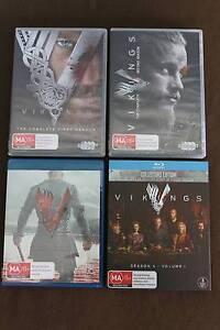 Vikings season 1 + 2 + 3 + 4 - 6 DVDs + 6 Bluray season 1 -4 North Perth Vincent Area Preview