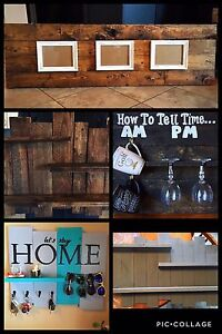 Handmade Rustic Home Decor (MUST SEE PICS!)