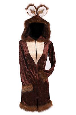 Rehkostüm Kleid mit Haarreif Tierkostüm Reh Rehkitz Gr. S-XL Karneval - Rehkitz Kostüm