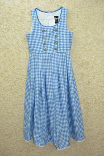 Girls Trachten dress Bavarian Oktoberfest dirndl dress Size 140 cm