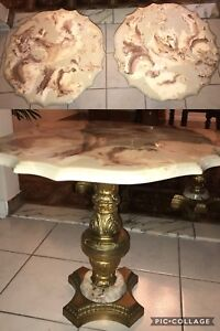 Coffee Table and 2 Lamp Tables