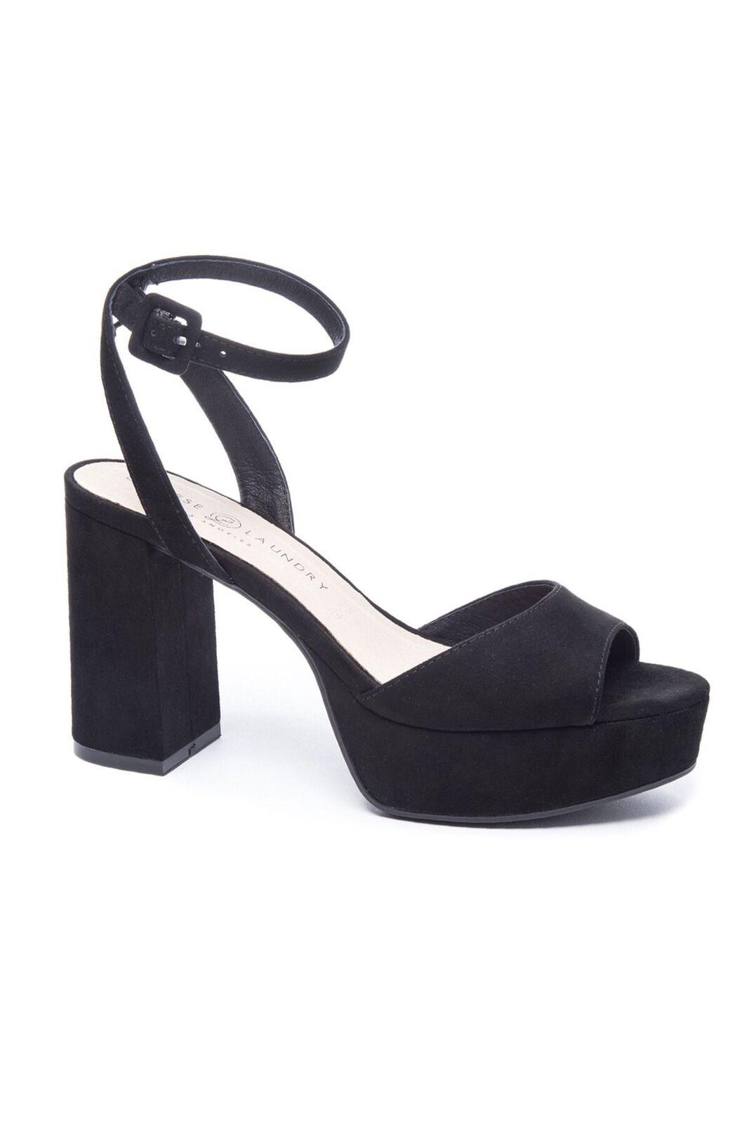 5b5deb7af9 Chinese Laundry Theresa High Heel Platform Sandal - Black 6 for sale ...
