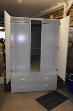 2 Door Clothes Cabinet with 4 Drawers. Excellent Condition. Loftus Sutherland Area Preview