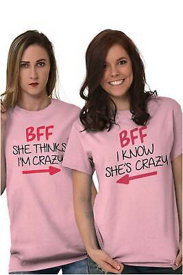 BFF Cute Best Friends Matching Gift Idea T-Shirts T Shirts Tees For