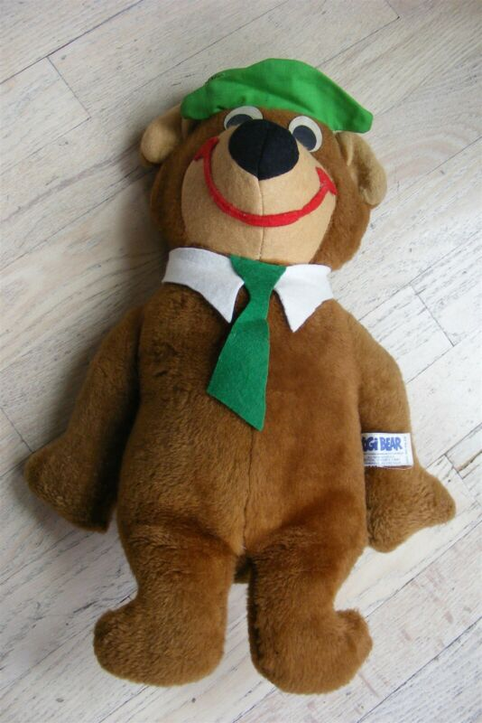 Vintage Knickerbocker Toys Yogi Bear 1973 with hang tag!