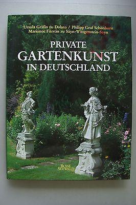 Private Gartenkunst in Deutschland 1986 Garten