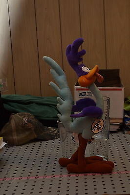 Looney Tunes Warner Brothers Plymouth  Road Runner Talking Stuffed Animal
