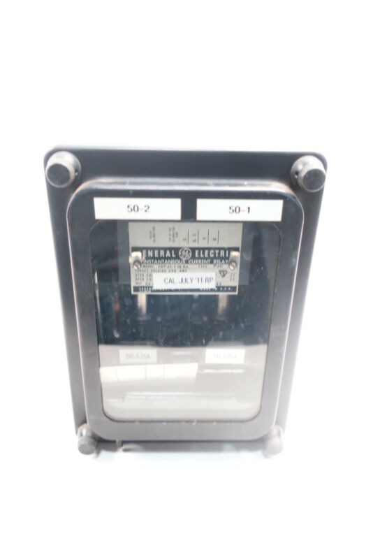 General Electric Ge 12PJC11E3A Instantaneous Current Relay
