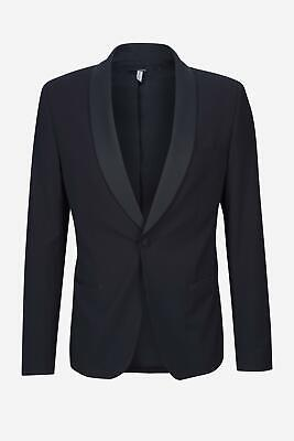 Antony Morato - Sakko Herren elegant Satin-Optik dunkelblau NEU: 159 €