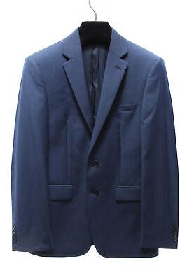 CALVIN KLEIN $450 Mens 3304 100% Wool Slim Fit Jacket Blazer 44S ()