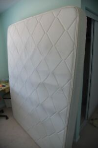 Queen Mattress and bed frame for sale
