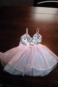 Pink & Blue Sequin Ballet Tutu & Hair Clip Kotara Newcastle Area Preview