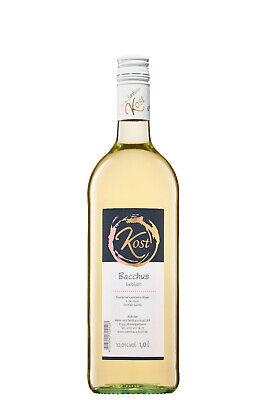 6 Fl. Bacchus 2020 lieblich - Weißwein