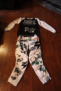 2 SETS OF MOTOCROSS GEAR FOR SALE