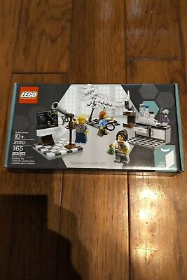 LEGO Ideas Research Institute (21110). Brand New/Sealed. Exc. Cond. Free Ship