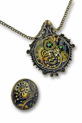 Kostüm Accessoires Kette und Ring Steampunk Schmuck Victorian - Kostüm Schmuck Und Accessoires