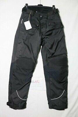 Hombre Pantalones Mmpermeables Para Moto Motocicleta Pantalones Moto Jeans Con Motorcycle Biker Pants Negro, XL=34 95cm Waist