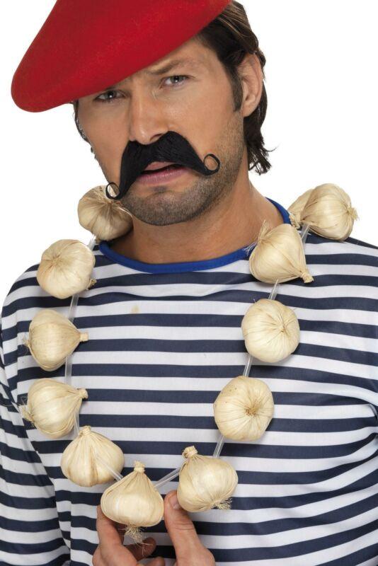 Garlic Garland Vampire Repellent Necklace Costume Accessory