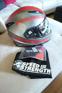 Brand new speed and strength motorcycle helmet