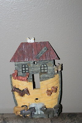 Light Switch Cover Plate Noah's Ark Resin with screws Electrical Cover