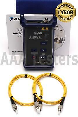 Afl Noyes Ols2 Dual Sm Dual Fiber Optic Laser Light Source W Waveid Ls2d Ols 2
