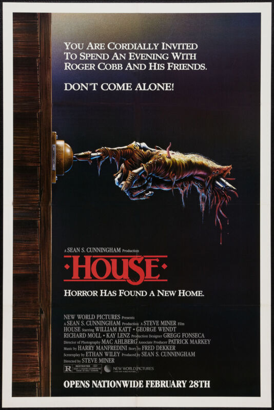 Horror: * The House * USA  Movie Poster 1986