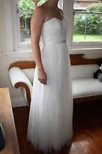 Ivory Sorella Vita 8501 Lace Tule Wedding / Bridesmaid Dress 12 Gladesville Ryde Area Preview