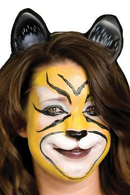 WOOCHIE KITTY CAT FACE TIGER LEOPARD FELINE NOSE PROSTHETIC COSTUME MAKEUP - Halloween Leopard Makeup