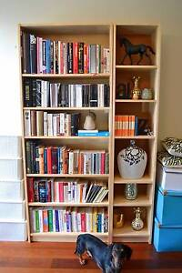 IKEA Billy Bookcases x 2 - Birch Veneer Annandale Leichhardt Area Preview