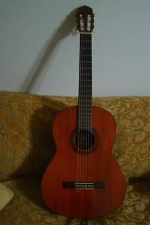 CLASSICAL GUITAR YAMAHA G-55-1 NYLON STRING Epping Ryde Area Preview