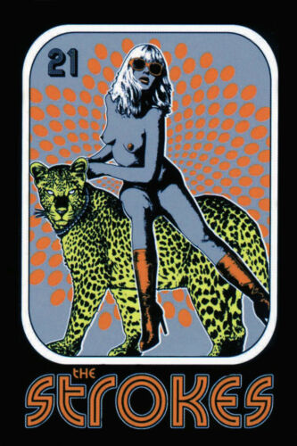 The Strokes 2006 Concert/Gig Poster
