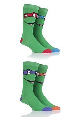 SockShop Teenage Mutant Ninja Turtles Cotton Socks (Tmnt Socks)