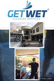 Get Wet cleaning services  ( window cleaning ) ( pressure cleaning )