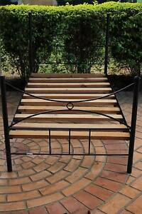 King Single size Wrought Iron Bed excelent condition Bridgeman Downs Brisbane North East Preview