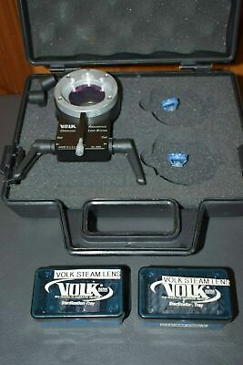 Volk Rols Wide-view System For Vitrectomy With Surgical Lenses -oculus Biom-like