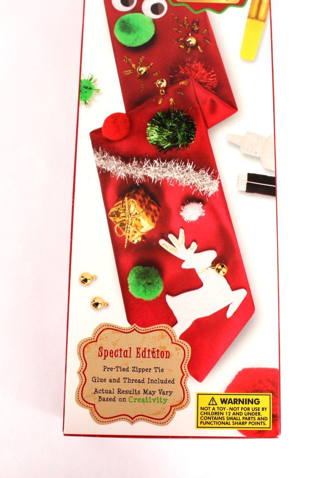 Holiday make your own ugly christmas tie kit pre tied do it yourself new holiday make your own ugly christmas tie kit pre tied do it yourself fun fun solutioingenieria Choice Image