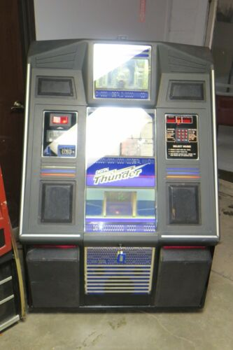 Sharp NSM Digital Thunder Commercial Coin Operated 100 CD Jukebox with remote
