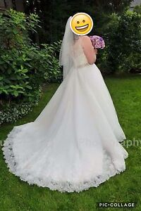 Allure bridal gown - size 16